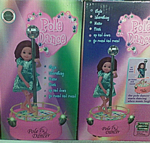 pole dancing doll