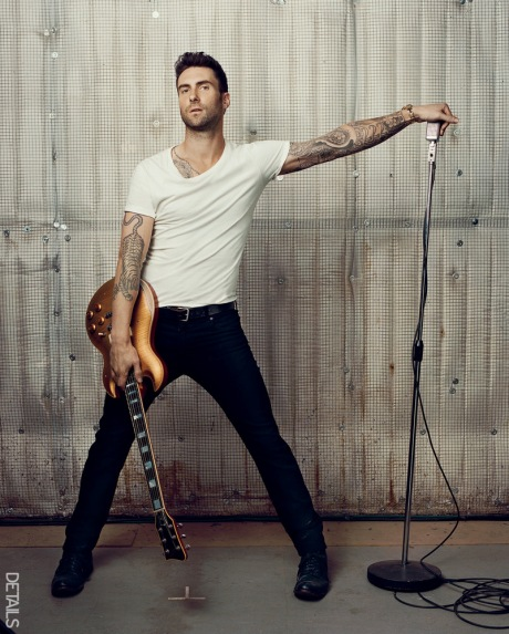 Adam Levine for Details Magazine 2012