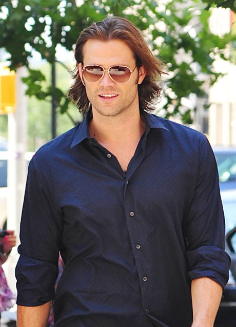 Jared Padalecki strolls through SoHo