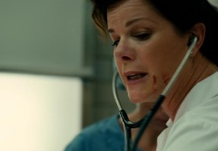 Marcia Gay Harden as nurse Doris Nelson