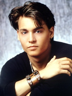 my first love and obsession....still love him and all his movies to this day Johnny Depp