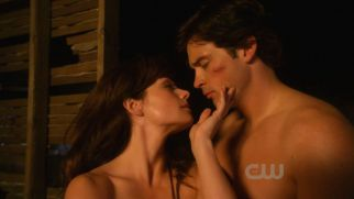 I remember this scene....man it was hot for  Lois and Clark